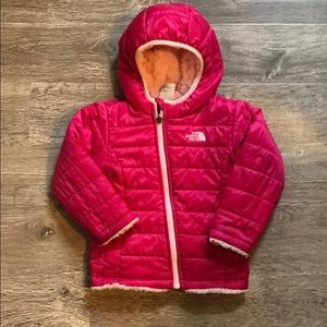 North Face baby winter coat